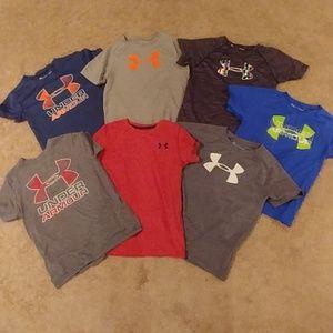 Under Armour Boys T Shirt  Lot